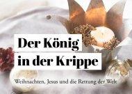 Der König in der Krippe - Wer ist Jesus, der Messias