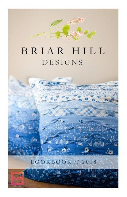 Briar Hill Designs Lookbook Fall 2018