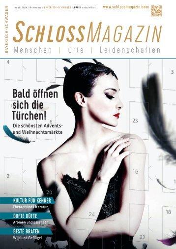 SchlossMagazin Bayerisch-Schwaben November 2018