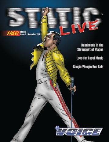 Static Live Magazine November 2018
