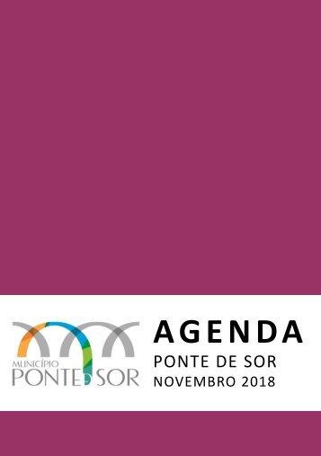 Agenda Ponte de Sor - novembro 2018