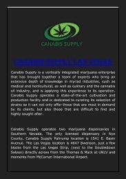 Canabis Supply Las Vegas
