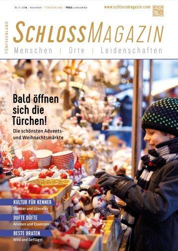 SchlossMagazin Fünfseenland November 2018
