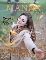 201811 MANNA Magazine
