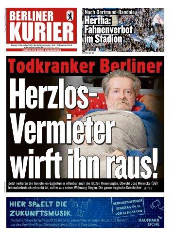 Berliner Kurier 02.11.2018