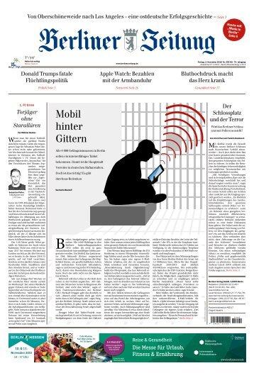 Berliner Zeitung 02.11.2018