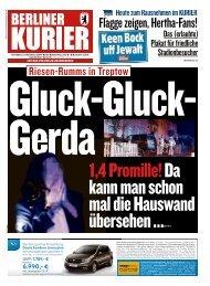 Berliner Kurier 03.11.2018