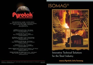 ISOMAG® Brochure - English - Pyrotek
