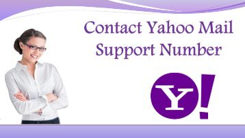 Contact Yahoo Mail Support Phone Number
