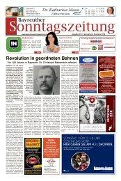 2018-11-04 Bayreuther Sonntagszeitung