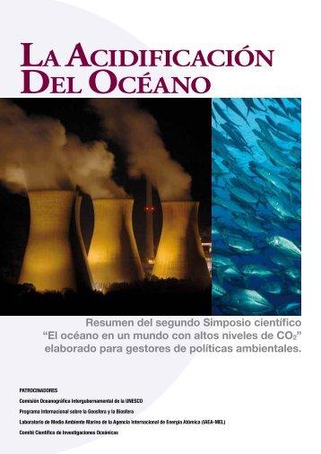 La Acidificación del océano: resumen del ... - unesdoc - Unesco