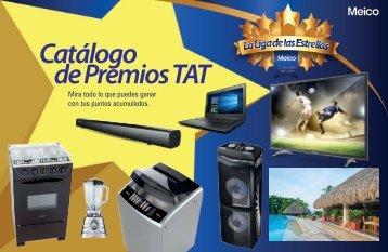 Catálogo puntos y premios TAT