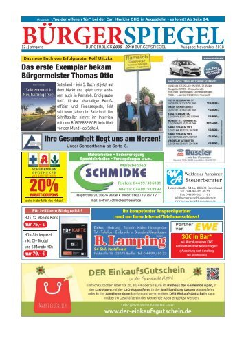 November 2018   Bürgerspiegel