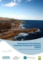 International SmartOcean Graduate Enterprise ... - Marine Institute