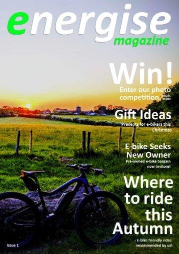 Energise Magazine - Issue 1 - November 2018