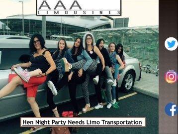 Hen Night Party Needs Limo Transportation