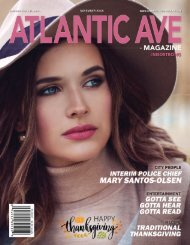 Atlantic Ave Magazine November 2018 Issue