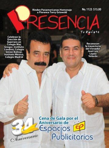 Revista Presencia Acapulco 1123