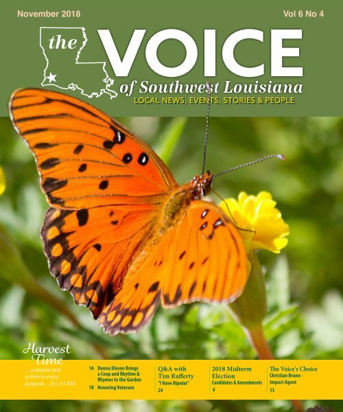 The Voice of Southwest Louisiana November 2017 Issue