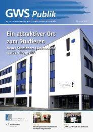 GWS-Publik 1/12 - Gesellschaft zur Wirtschafts- und ...