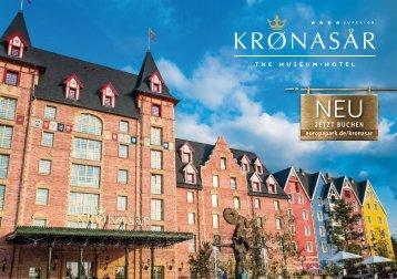 """Kronasar – The Museum-Hotel"" Broschüre _D"
