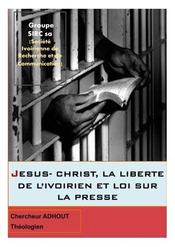 la liberté en Jésus