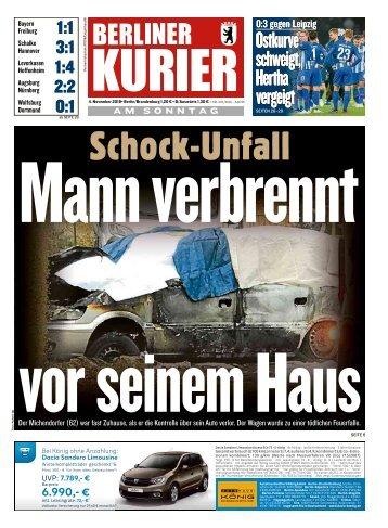 Berliner Kurier 04.11.2018