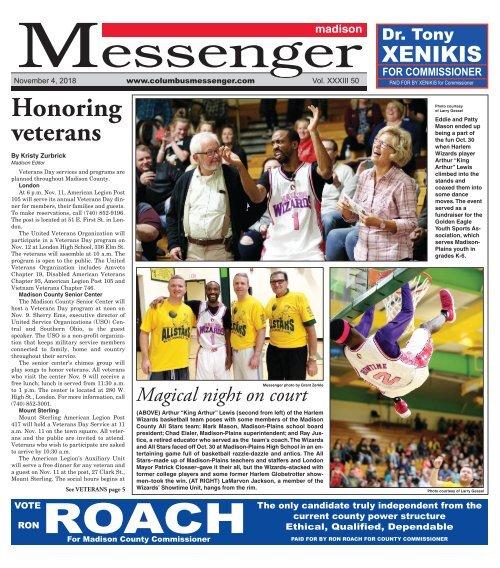 Madison Messenger - November 4th, 2018