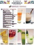 Menu  Bebidas para internet - Page 2