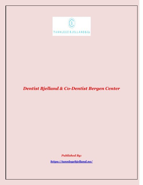 Dentist Bjelland