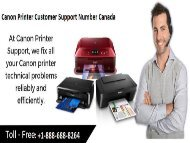Call +1-888-688-8264 Canon Printer Customer Care Phone Number