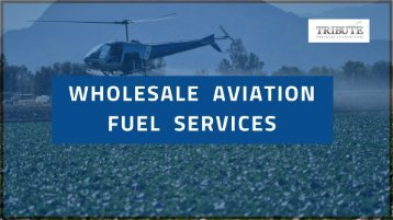 Wholesale Aviation Fuel Services Provider|Tribute Aviation