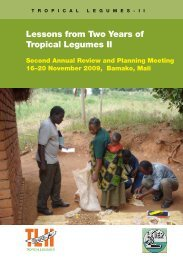 Tropical legumes II - Icrisat