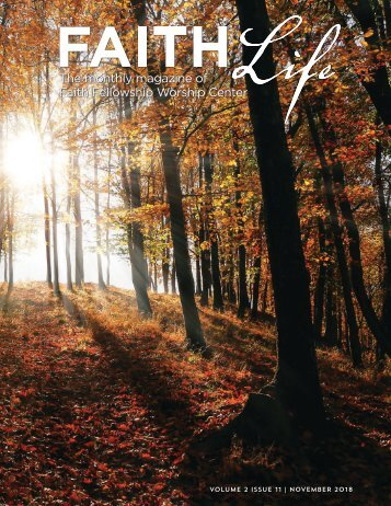 Faith Life Magazine - November 2018
