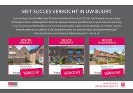 Erik Bessems Makelaardij, met succes verkocht in Reuver!
