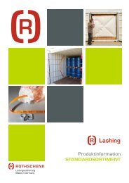 Lashing Broschüre Rothschenk