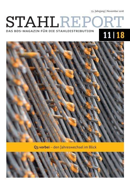 Stahlreport 2018.11