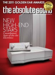 cover story - Constellation Audio