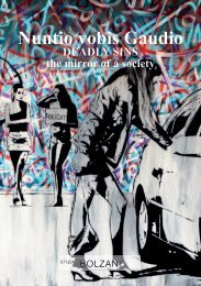 Nuntio vobis Gaudio - DEADLY SINS the mirror of a society