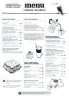 snídaně menu, listopad-prosinec - Page 2