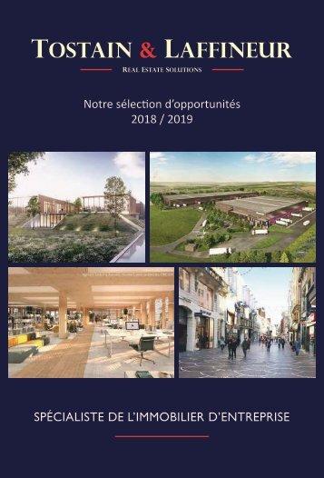 Les cahiers Tostain & Laffineur - 2018-2019