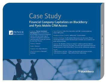 Mobile CRM Access