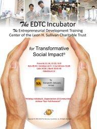 The EDTC Incubator