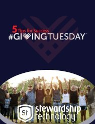 #5 Tips for #GivingTuesday Success