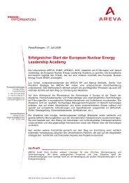 Erfolgreicher Start der European Nuclear Energy Leadership Academy