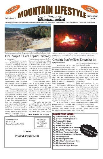 Nov2018-Mountain Lifestyle-Crestline & Lake Arrowhead edition