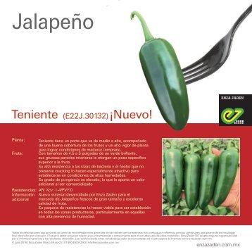Jalapeño Teniente