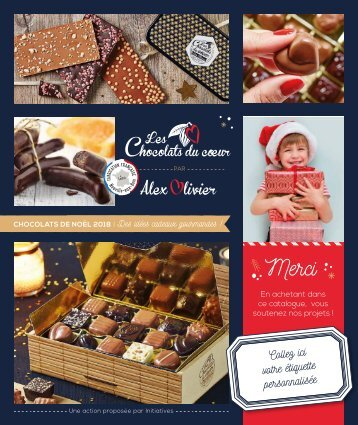 Catalogue chocolats 2018