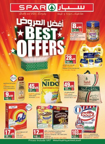 SPAR flyer from 1 to 7 Nov 2018
