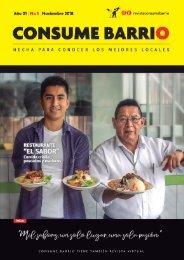 Revista Consume Barrio | Edición 05 - Nov. 2018